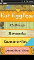 Screenshot of Eat Eggless