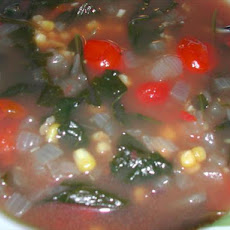 Clear Spinach and Tomato Soup-Ww Friendly-Core