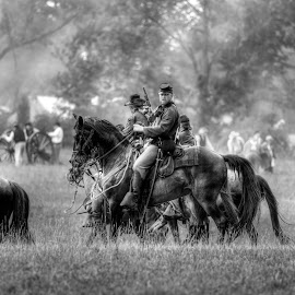 Union Calvary by Mark Six - News & Events World Events ( army, battle, civil war, airforcem marines, navy, people, war )