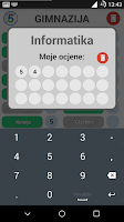 Screenshot of Prosjek Ocjena v2