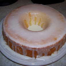 Lemon Frosted Lemon Cake