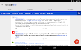 Screenshot of francetv info