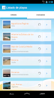 Screenshot of Playas de Cádiz