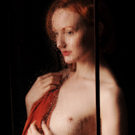 behind the window by Vineet Johri - Nudes & Boudoir Artistic Nude ( vkumar, model, anita de bauch, art nude, workshop )
