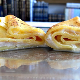 Pesach Sweet Cheese Blintzes