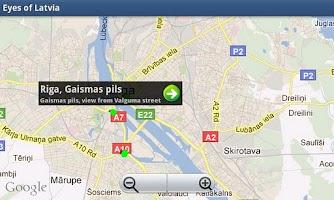 Screenshot of Eyes of Latvia