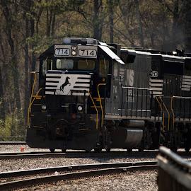 by Cindy Garrett - Transportation Trains
