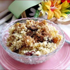 Seffa (Sweet Couscous With Almond Milk)