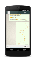 Screenshot of Jokes for WhatsApp with emoji