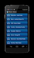 Screenshot of Music Maniac Radio