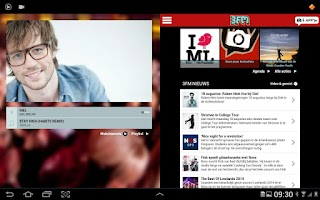 Screenshot of NPO 3FM