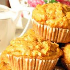 Vegan Apple Carrot Muffins