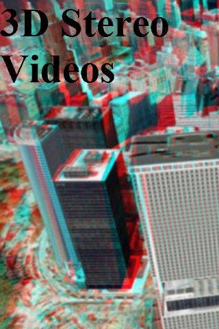 【免費媒體與影片App】3D Stereo Videos-APP點子