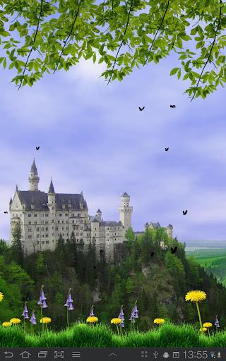 Castle View Live Wallpaper