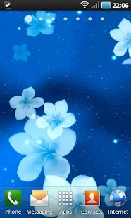3D Animated Flowers LWP - screenshot