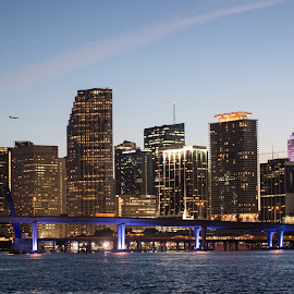A Miami Night by Mikal Abdullah - Buildings & Architecture Other Exteriors