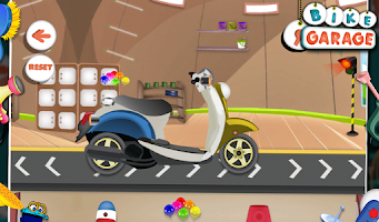 Screenshot of Bike Garage - Fun Game