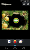Screenshot of Christmas PhotoFrames