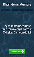 Screenshot of Complete Memory Training Game