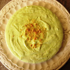 Frozen Lime-Macaroon Cheesecake