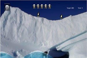 Screenshot of Penguin Dive