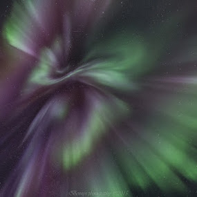 Corona magic by Benny Høynes - Landscapes Starscapes ( corona, northernlights, aurora, colours, norway )