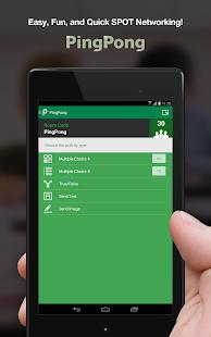 PingPong - SPOT Networking- screenshot thumbnail