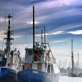 Blues Brothers by Glenn Long - Transportation Boats