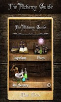 Screenshot of Alchemy Guide - Skyrim