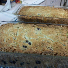 Blueberry Banana Nut Oatmeal Bread