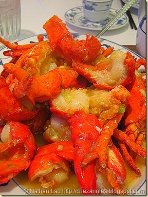 fook yuen garlic lobster