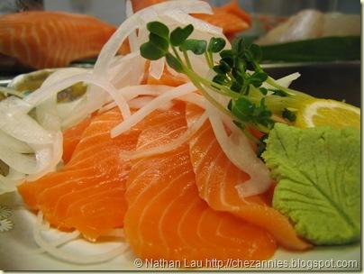 tokkuri tei 2 salmon sashimi 3