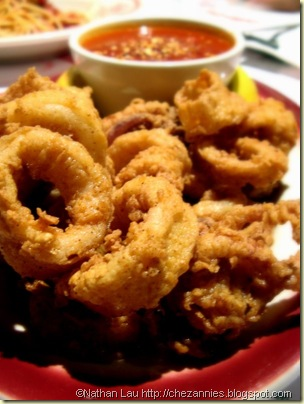 Buca di Beppo Fried Calamari