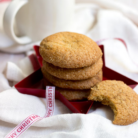 Soft Honey Ginger Cookies
