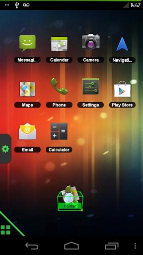 TSF Shell Theme ICS Green