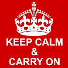Keep Calm & Carry On icon