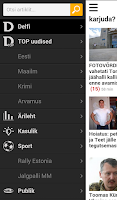 Screenshot of Delfi.ee