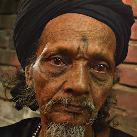 Sages from ashes......... by Arnab Bhattacharyya - People Portraits of Men