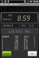 Screenshot of IPSC Shot Timer