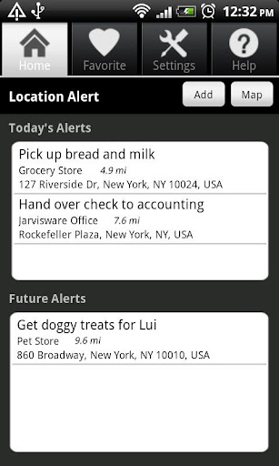 Location Alert