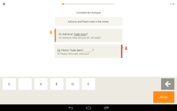 Learn Portuguese With Babbel APK screenshot thumbnail 7
