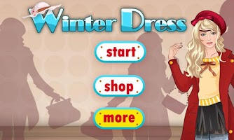 Screenshot of Dress Up & Makeup-Winter