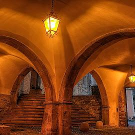 Loggia by Roberta Sala - City,  Street & Park  Historic Districts ( pigna, hdr, street, italy, historic )