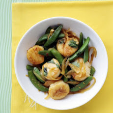 Scallop and Snap Pea Stir-Fry