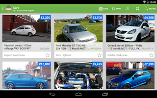 Screenshot of Gumtree
