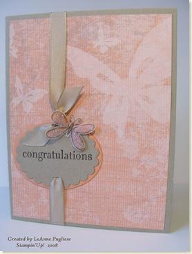 GG Butterfly Congrats