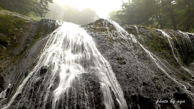 クロイ沢の滝
