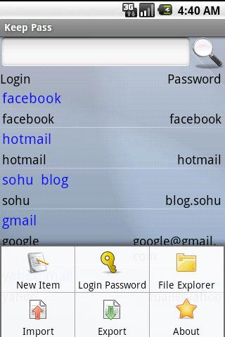 My Password Free