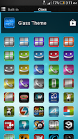 Screenshot of Glass - Icon Pack