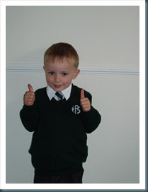 Tom's 1st Day at School